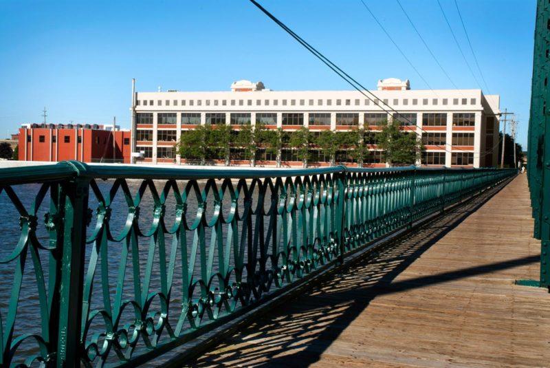 Next to 6th Street Bridge