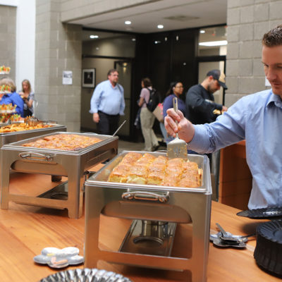 RVC Offices catered tenant party