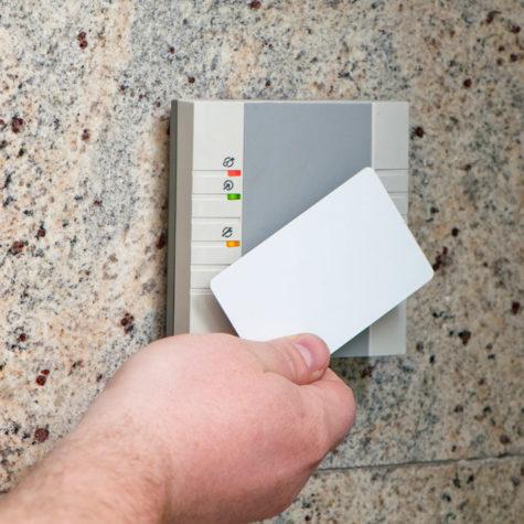 Security card access